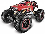 Машинка-вездеход на радиоуправлении Rock Crawler 3XL красная, 81157-2