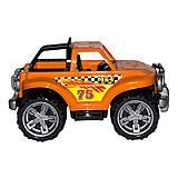 Машинка Внедорожник оранжевый, 4975