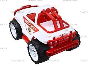 Игрушечная машина «Скорая помощь», 3534, детские игрушки