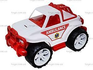 Игрушечная машина «Скорая помощь», 3534, магазин игрушек