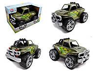 Машинка «Внедорожник» зеленая, 5019, купить
