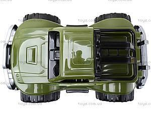 Игрушечный военный внедорожник для детей, 3565, фото
