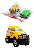 Машинка инерционная, 4 цвета, 399-85, купить