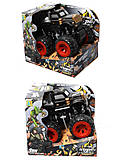 Машинка джип с инерционным механизмом, 6502-4-KLX, отзывы