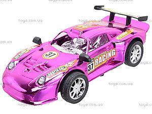 Машинка инерционная «Гонки», 020-D1, детские игрушки