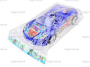 Инерционная игровая машина для детей «Тачки», 2268-1, детские игрушки