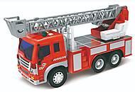Машинка инерционная 1:16 Wenyi «Пожарная» со звуком и светом, WY-350B, купить