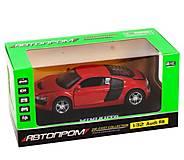 Машинка инерционная Audi R8 красная, 3201D