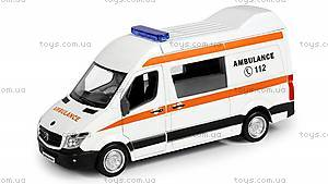 Машинка инерционная «Mercedes Benz Sprinter Van», 554024