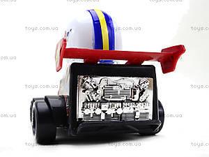 Машинка инерционная с водителем, 291B, детские игрушки