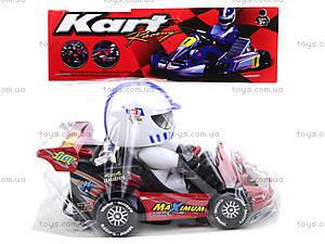 Машинка инерционная с водителем, 291B, магазин игрушек
