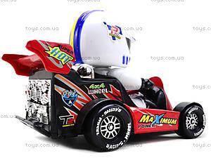Машинка инерционная с водителем, 291B, toys.com.ua