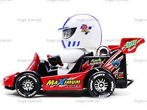 Машинка инерционная с водителем, 291B, toys