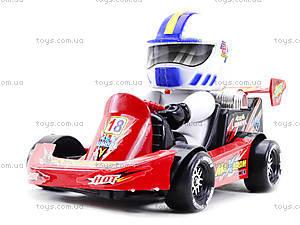 Машинка инерционная с водителем, 291B, іграшки