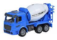Машинка инерционная Same Toy Truck «Бетономешалка» синяя, 98-612Ut-2, купить