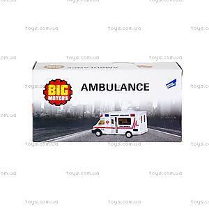 Машинка инерционная «Скорая помощь», 22990-81022, купить
