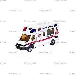 Машинка инерционная «Скорая помощь», 22990-81022, фото