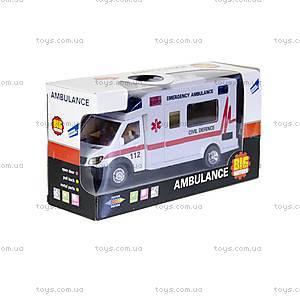 Машинка инерционная «Скорая помощь», 22990-81022