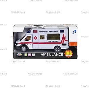 Машинка инерционная «Скорая помощь», 22990-81022, цена