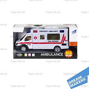 Машина инерционная «Скорая помощь», JL81022