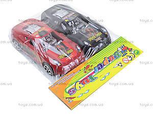 Машинка инерционная Spiderman, 2259-B, toys