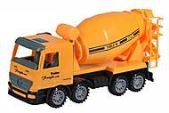 Машинка инерционная Super Combination «Бетономешалка» желтая, 98-85Ut-2, купить