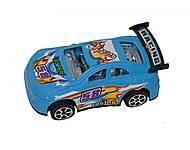 Машинка инерционная (синяя), 5588-1