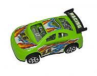 Машинка инерционная (зеленая), 5588-1