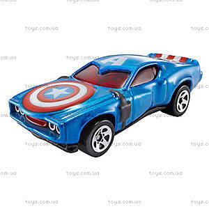 Машинка-герой Марвел Hot Wheels, BDM71, отзывы
