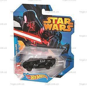 Машинки-герои серии Star Wars Hot Wheels, CGW35