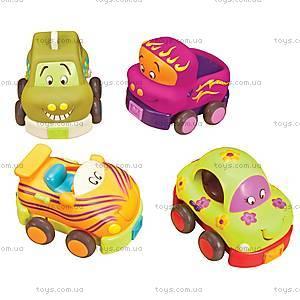 Машинки-погремушки «Забавный автопарк», BX1048Z, отзывы