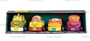 Машинки-погремушки «Забавный автопарк», BX1048Z, цена