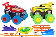 Машинки Trix Trux с трассой красная и желтая, JLT-AS332RY, фото