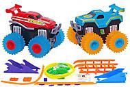 Машинки Trix Trux с трассой красная и синяя, JLT-AS332RB, купить