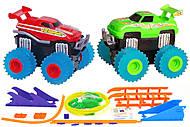 Машинки Trix Trux с трассой красная и зеленая, JLT-AS332RG, купить