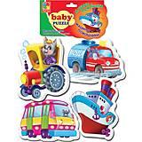 Машины-помощники Baby Puzzle, VT1106-08, фото