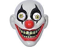 """Маска """"Безумный клоун"""" с выпученными глазами, , тойс ком юа"""