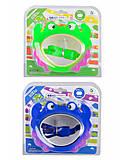 Детская маска для плавания, 3 вида, YW0003, купити