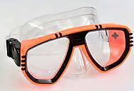 Маска для плавания оранжевая детская, 6510, купить игрушку