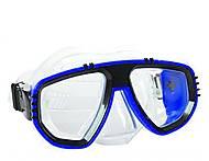 Маска для плавания синяя детская, 6510, фото