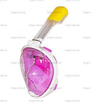 Маска для сноркелинга (розовая) L/XL, HC190734