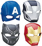 Детская маска героя «Мстители», B6654, отзывы