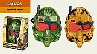 """Маска """"Военный спецназ"""" 2 цвета, CB16328"""