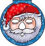 Маски для детей «Дед Мороз», БР011, купить
