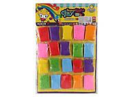 Набор разноцветной масса для лепки 20 штук, C38835, отзывы