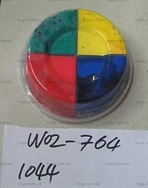 Масса для лепки, 4 цвета, 1044