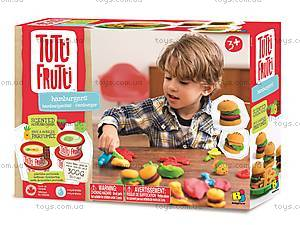 Масса для лепки «Гамбургеры» серии Tutti-Frutti, BJTT14809