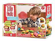 Масса для лепки «Гамбургеры» серии Tutti-Frutti, BJTT14809, фото