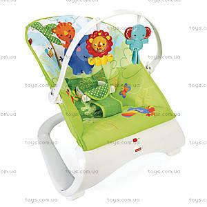 Массажное кресло Fisher-Price «Тропические друзья», CJJ79, фото
