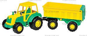 Трактор с прицепом «Мастер», 35257